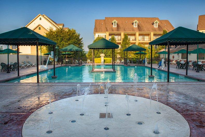 branson french quarter pool and splash pad