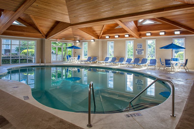 hilton head island spinnaker resorts bluewater resort indoor pool