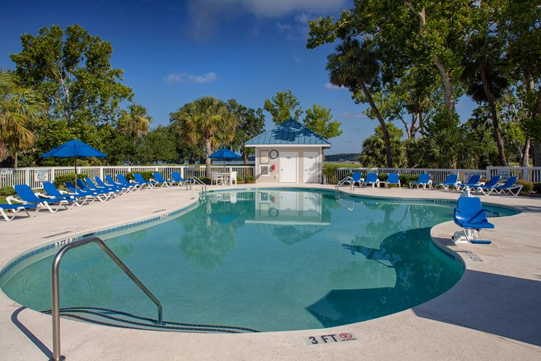 hilton head island spinnaker resorts bluewater resort secondary pool