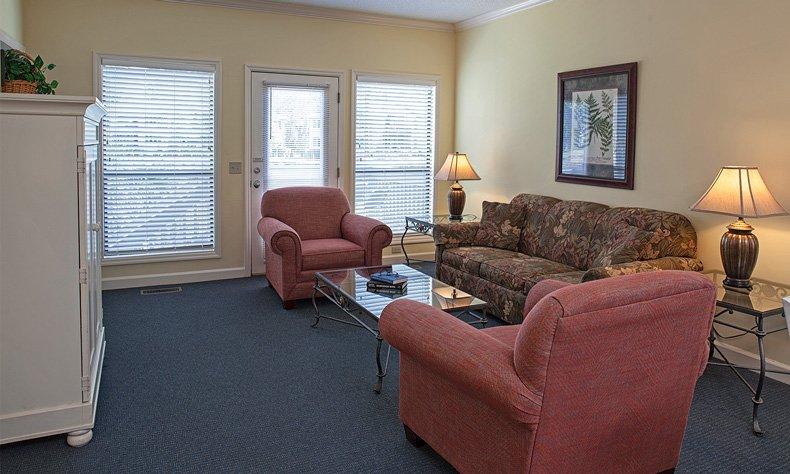hilton head island egret point resort 2 bedroom living room