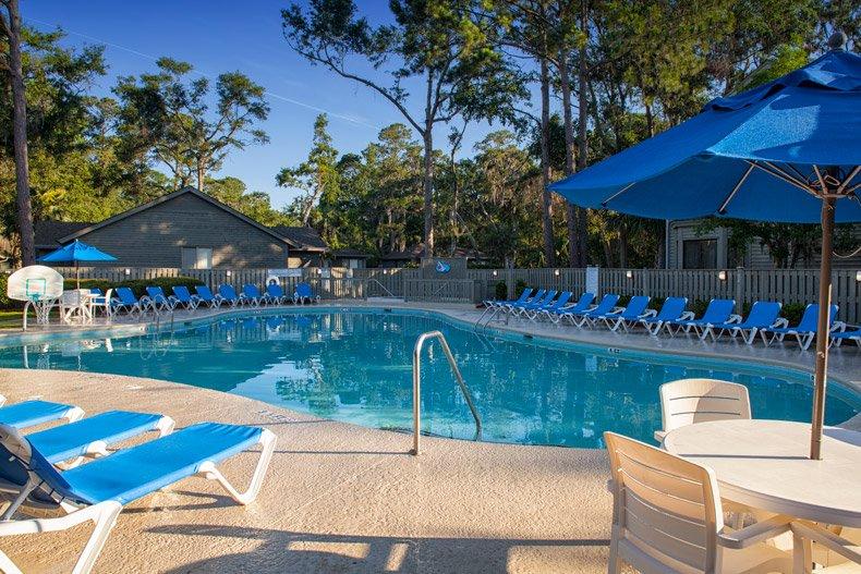 hilton head island southwind resort pool