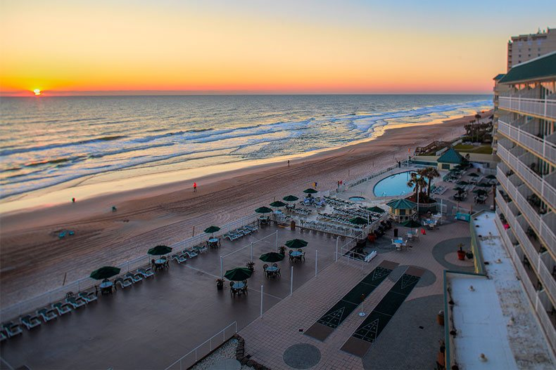Ormond Beach Royal Floridian Resort Oceanfont Pool