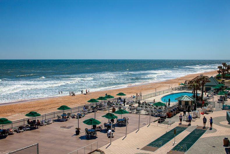 ormond beach royal floridian resort oceanfront pool