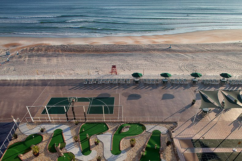 Ormond Beach Royal Floridian Resorts Mini Put Sportcourt Ocean B