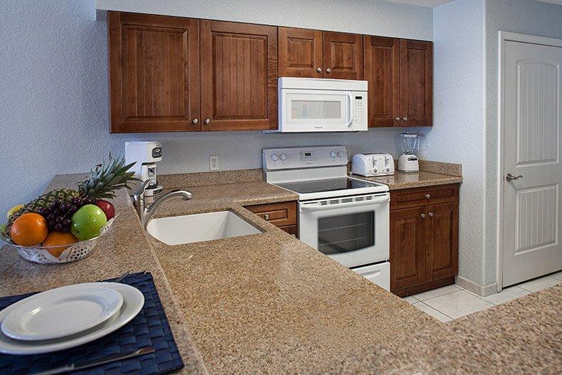 ormond beach royal floridian south resort 2bd kitchen