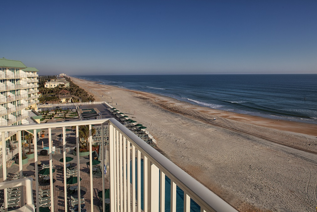 ormond beach royal floridian resort balcony view of ocean