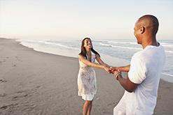 Hilton Head Island Beach Couple