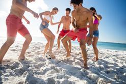 hilton head island beach friends fun