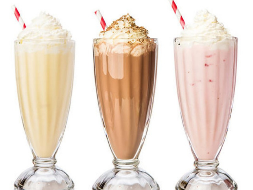 fall activities 2018 milkshakes