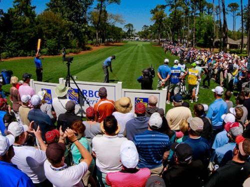 crowd cheering spinnaker resorts hilton head island rbc heritage golf blog