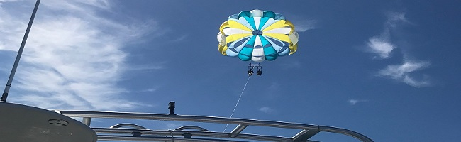 Parasailing in Ormond Beach