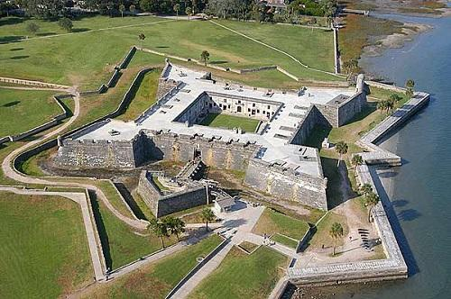 st augustine fort San Marcos 500 332