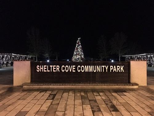 2016 Dove Street Light Festival at Shelter Cove Towne Centre