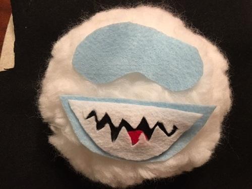 DIY Sweater Snowman head