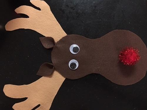 DIY Sweater Rudolph
