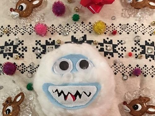 DIY Ugly Christmas Sweater bumble