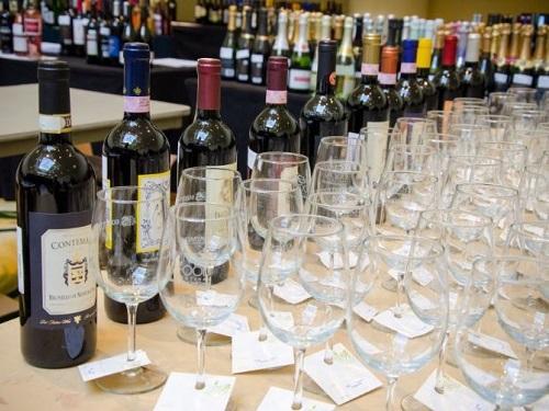 hilton head wine festival 2017 wine samples indoor