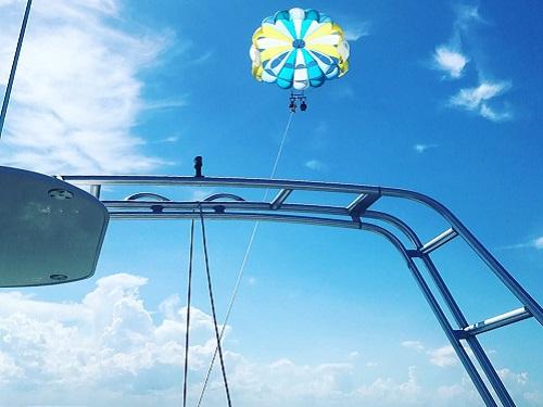 48 hours in ormond beach ponce de leon inlet daytona parasail