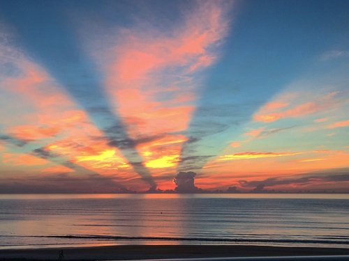 48 hours in ormond beach royal floridian sunrise