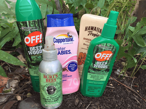 bug spray sunscreen 5 things not to forget when packing for our vacation week