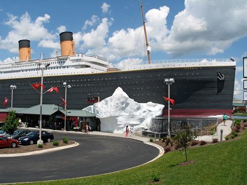 hidden treasures branson titanic