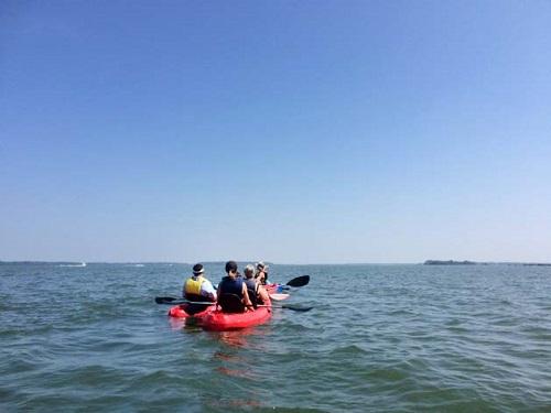 fall activitieis 2017 kayak