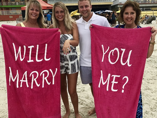 spinnaker proposal say yes to a destination wedding with spinnaker resorts beach love