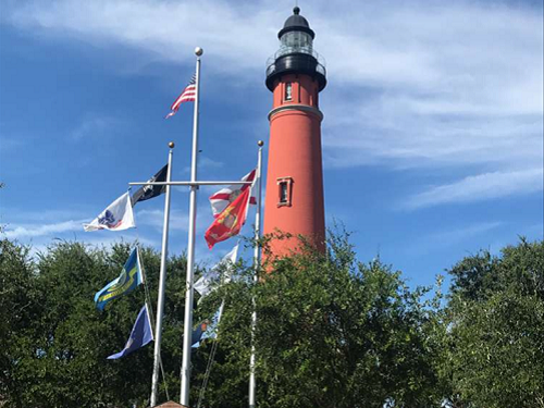 ponce inlet flags florida lighthouse lighting the way to spinnaker resorts images blog 2018