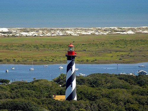 st augustine aerial view lighthouse lighting the way to spinnaker resorts images blog 2018