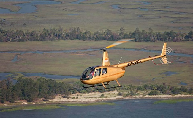 Fly into the New Year with Hilton Head Helicopter Tours