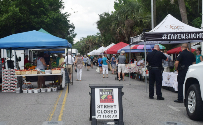The Bluffton Farmer's Market: Expect the Unexpected