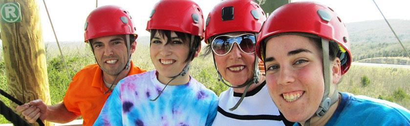 Zip lining …Through The Eyes (and Adrenaline) Of The FUN team